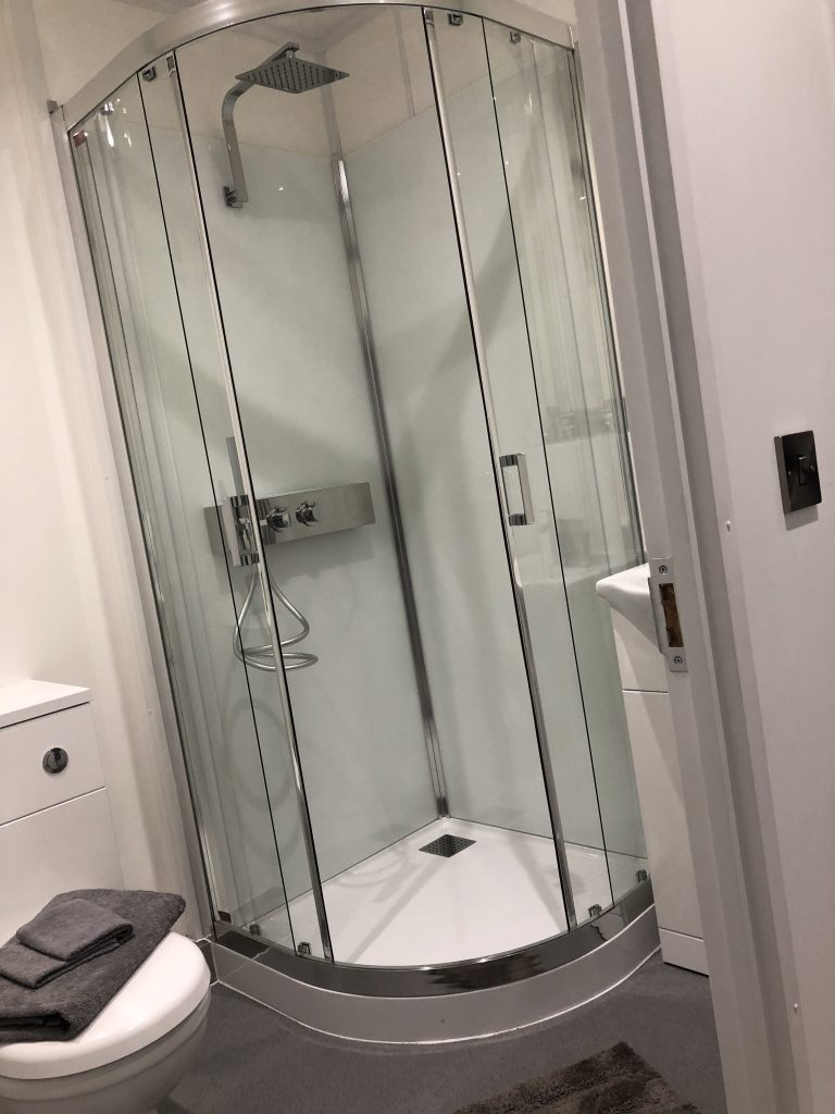 Kinedo Shower Cubicle - Shipping Container Conversions