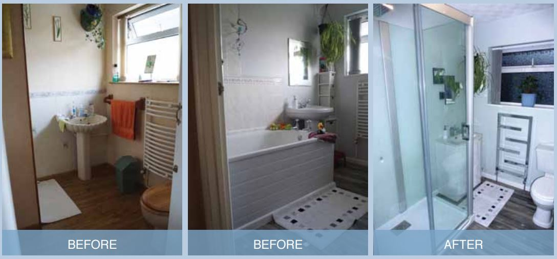 Bath Replacement Before After
