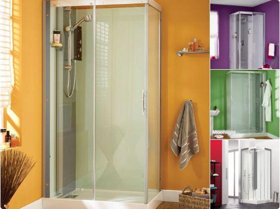 New Bathroom - Shower Cubicles