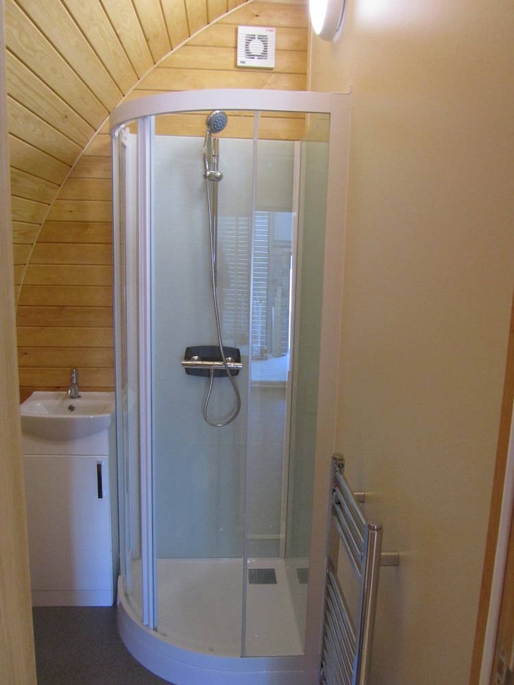 Showers for Glamping