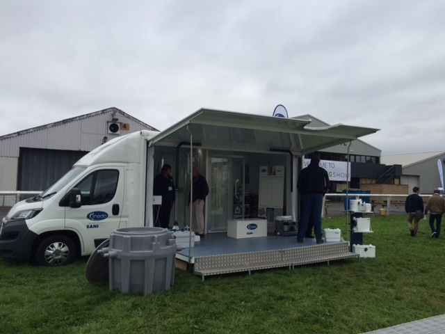 Kinedo at The Glamping Show 1