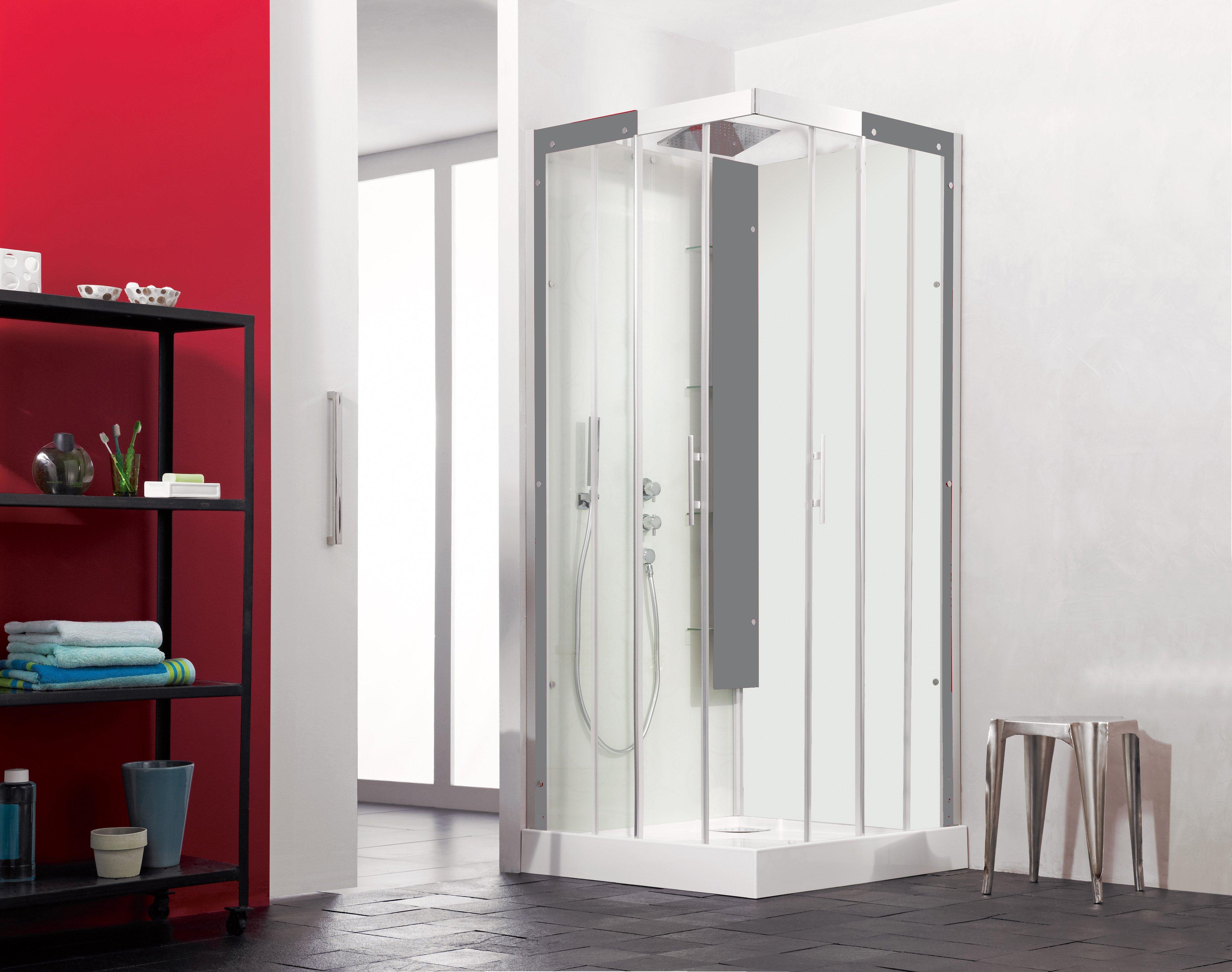 Timber Frame House Shower
