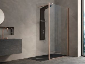 Kinedo Kinespace Shower Enclosure - Copper